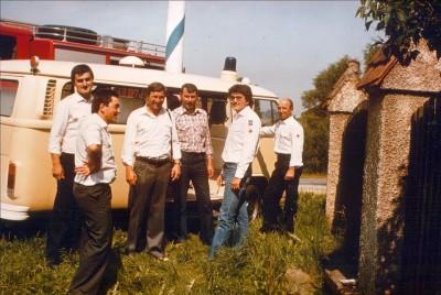 Die beachtliche Zahl von 3740 ehrenamtlichen Stunden leisteten 13 Rotkreuzler der Kolonne 1981 in der Rettungswache in Grafenau.